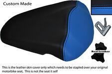 Blue & Negro Custom 06-10 encaja Aprilia Rs125 Rs 125 Trasero necesidades cubierta de asiento