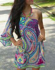 Caftano Maglia Vestito Donna Kaftan Woman Dress Copricostume 110160 - P