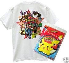 POKEMON PICKACHU ANIME MANGA CARD GAME T Shirt & Computer Tappetino Mouse