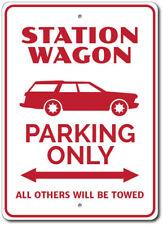 Station Wagon Parking Sign, Station Wagon Sign, Station Wagon Decor ENSA1002809
