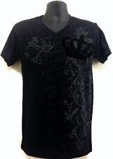New Men's MMA Crown Flock Floral Graphic Black New Top T-shirt S, M, L, XL, XXL