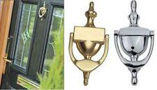 DOOR KNOCKER VICTORIAN URN DESIGN HIGH QUALITY BRASS & CHROME