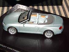 BENTLEY 1:43 SCALE LIMITED DIE CAST 2011 CONTINENTAL GTC MODEL NIB