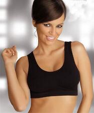 BH Bustier Top Umstandsmode schwarz weiß beige Sport Yoga Top