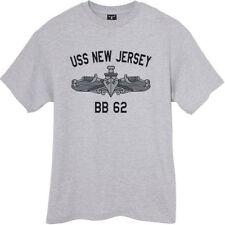 USN US Navy USS New Jersey BB-62 Battleship T-Shirt