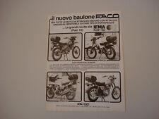 advertising Pubblicità 1982 FACO/HONDA CB 900/XL 125/CAGIVA ENDURO