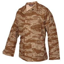 Desert Tiger Stripe Shirt BDU Uniform Set Tru-Spec 100% Cotton Ripstop