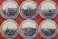 Peter Pan 2019 IOM Wendy-Hook-Children-Tinkerbell-Second-Crocodile UNC Coins CAP