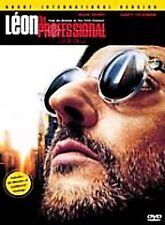 Léon the Professional (DVD, 2000, Uncut International Version)  LIKE NEW