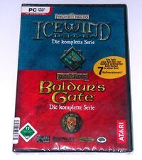 PC SPIEL Baldurs Gate & Icewind Dale komplette Serie WIE NEU/ DEUTSCH