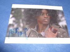 AISSA MAIGA signed Autogramm 20x28 cm In Person DIAMOND 13 , PARIS JE TÁIME