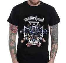 Motorhead Lemmy Heavy Metal Graphic T-Shirt - S M L XL