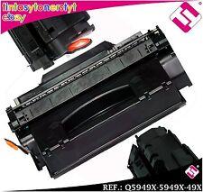 TONER NEGRO Q5949X 5949X 49X XL COMPATIBLE PARA IMPRESORAS NONOEM HP NO ORIGINAL