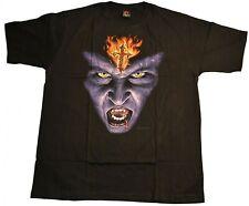 Gothic T-Shirt with Vampire Print
