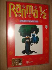 DVD N° 12 RANMA 1/2 EPISODI 45 46 47 48