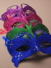 Purpurina Cara Baile De Máscaras Mask EN BONITO COLORES, disfraz