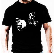 Bodybuilding Palestra T SHIRT deadlift Novità Wear Allenamento Training Top Abiti UK