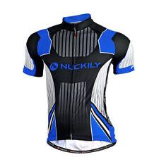 Hombres Bicicleta de Montaña Bici Ropa Camisas Mangas Cortas Bicicleta  Ciclismo Camisetas Top Transpirable 1ead0e078fc