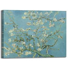 Van Gogh ramo di mandorlo fiorito quadro stampa tela dipinto telaio arredo casa