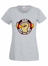 T-shirt Maglietta donna J2313 Roma Keep The Faith Abbi Fede Firm Holligans