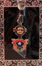 Hard Rock Cafe LAS VEGAS 2011 Battle Born GUITAR Nevada State Flag PIN Mint New!