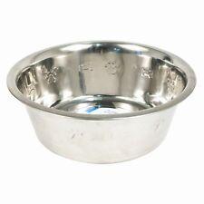 Brillante Acero Inoxidable Cachorro De Perro redondeados feeding/drinking Tazones Varios Tamaños