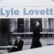 LYLE LOVETT POSTER, I LOVE EVERYBODY (SQ20)