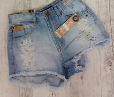 Vibe High Waisted Denim Shorts