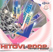 ZADAR FEST 2001 CD Petar Dragojevic Ivan Zdenka Emilija Alen Diva Putokazi Hari