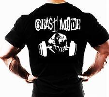 HULK Mens T shirt Beast Mode Training Workout top clothes bodybuilding wear tee