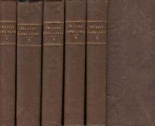 Theatre D'Education. par Mme De Genlis. Paris, 1813. in 5 vols.Sgd.by I. Gregary