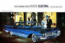 1960 Buick Electra 225 4-Door Hardtop - Promotional Advertising Poster