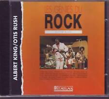 ALBERT KING OTIS RUSH guitar blues (CD)  (les genies du rock editions atlas)