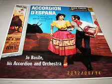 Jo Basile His Accordion and Orchestra Accordion D'Espana AFLP1870 1959 LP VG++