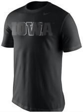 Nike Iowa Hawkeyes Champ Drive Stealth Reflective Logo shirt football basketball