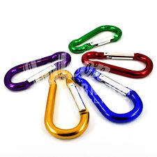 In alluminio colorato Moschettone a Molla Clip Snap Hook Moschettone 50mm - 80mm