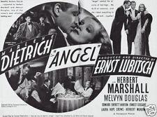 Angel Marlene Dietrich #2 movie poster print