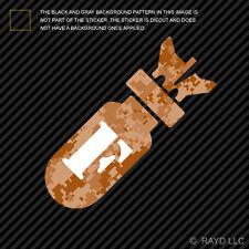 F Bomb Sticker Die Cut Decal Self Adhesive digital camo desert f-bomb