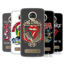 Oficial de los Rolling Stones clave Arte Funda Rígida posterior para teléfonos MOTOROLA 1