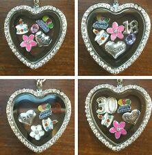 Personalised HAPPY BIRTHDAY Gifts Memory Locket Keyring 15th 18th 21st 30th 40th
