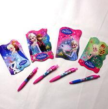 Disney Frozen Fever Notebook 30 sheets Novelty shape Notebook with pen. Rare