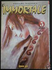 L'IMMORTALE 5 Hiroaki Samura COMIC ART