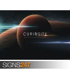 NASA MARS curiosità (3041) poster foto print arte * Tutte le Taglie-seconda metà prezzo!