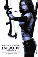 66472 Blade: Trinity Wesley Snipes, Jessica Biel, Wall Print Poster CA