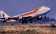 B-747-200 Corse Air International Iberia B747 Airplane Wood Model Free Shipping