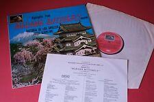 ASD 609 Puccini Madama Butterfly De Los Angeles Bjorling HMV STEREO UK + Insert