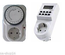 NEU** Analog oder Digital Zeitschaltuhr mit integriertem Kinderschutz Switch