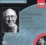 Britten: Cello Symphony; Cello Suite; Shostokovich: Cello Concerto No. 1 (CD,...