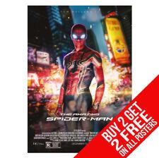 Cartel De Spiderman Vengadores Infinito Guerra Tamaño de impresión BB7 A4 A3 compre 2 lleve 2 Gratis