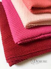 Solid Pleated Hijab Ripple Scarf Elegant High Quality Shawl Sarong Wrap Cape